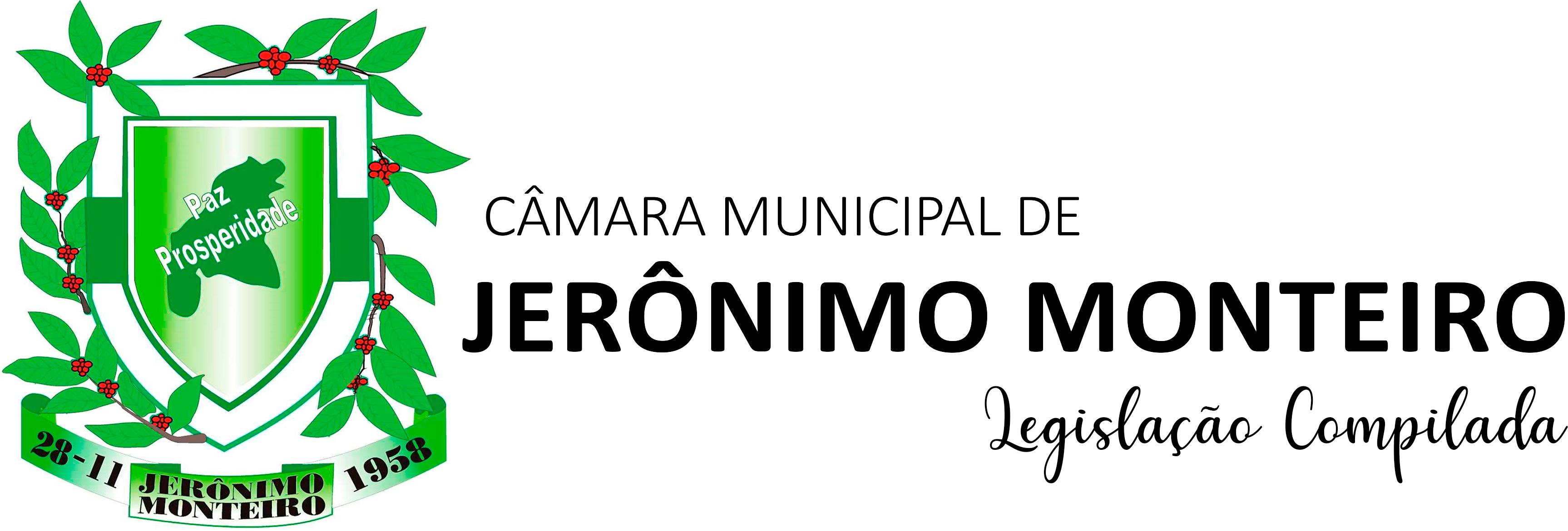 Brasão Câmara Municipal de Jerônimo Monteiro